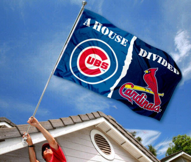 Chicago Cubs Vs St Louis Cardinals House Divided