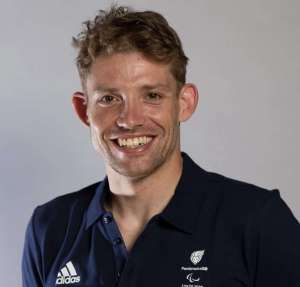 Ben Watson won a gold medal for Great Britain in the men's C3 Cycling Road Time Trial event at the Tokyo 2020 Paralympics after working at an office desk 5 years prior to his achievement