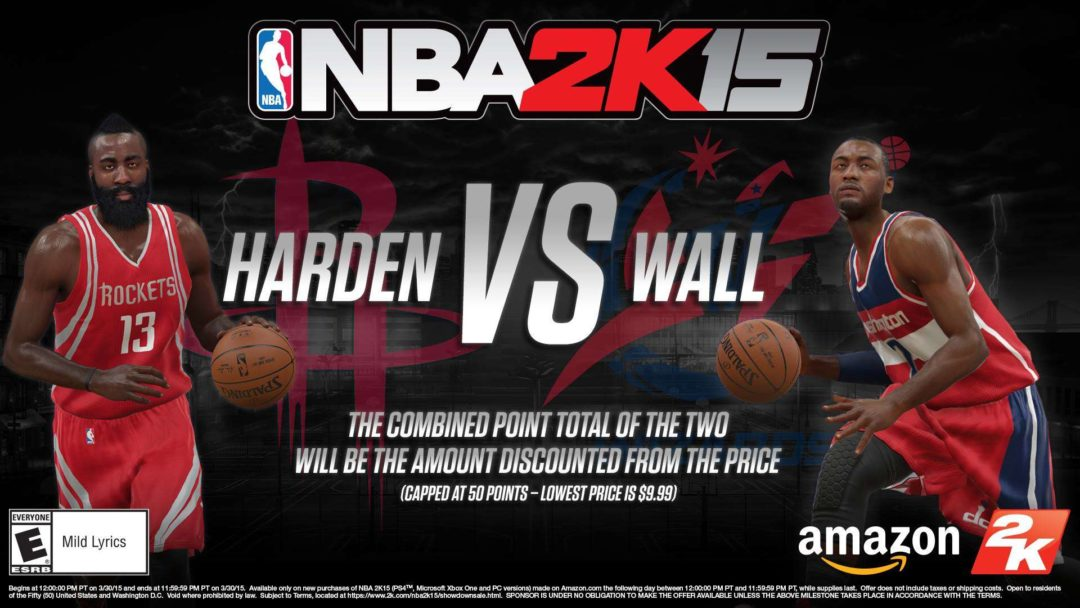 NBA 2K15 On Sale For 11 At Amazon Tomorrow Sports Gamers Online
