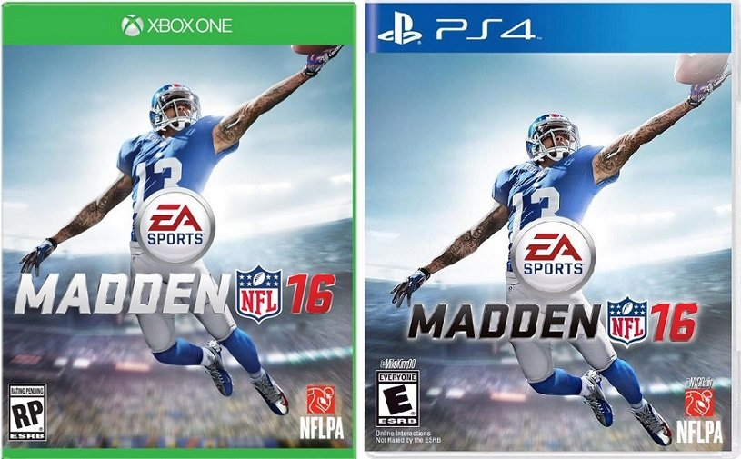 Odell Beckham Jr Wins Madden 16 Cover Vote Sports Gamers