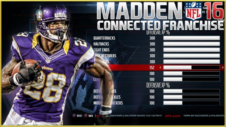 Madden16_Connected_Franchise_EXP_Analysis_adrian_peterson