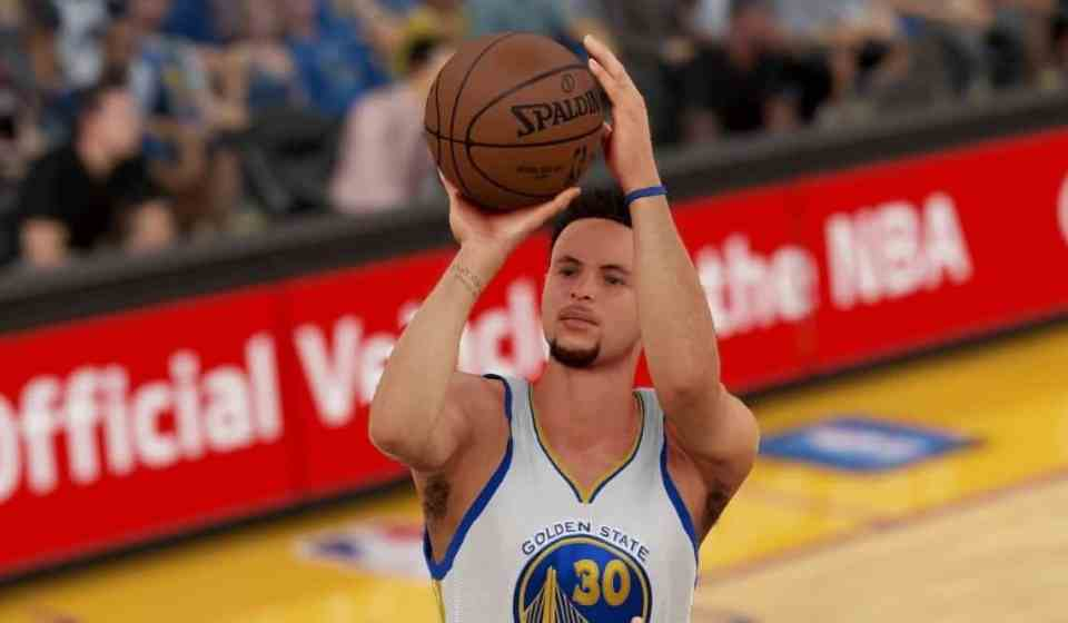 NBA 2K16 Money Plays Golden State Curry