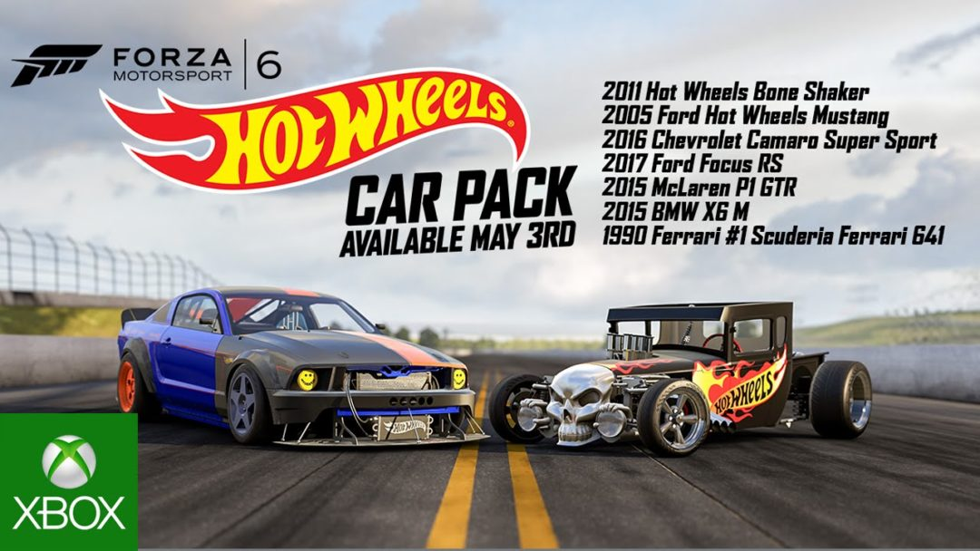 Forza Motorsport 6 Hot Wheels