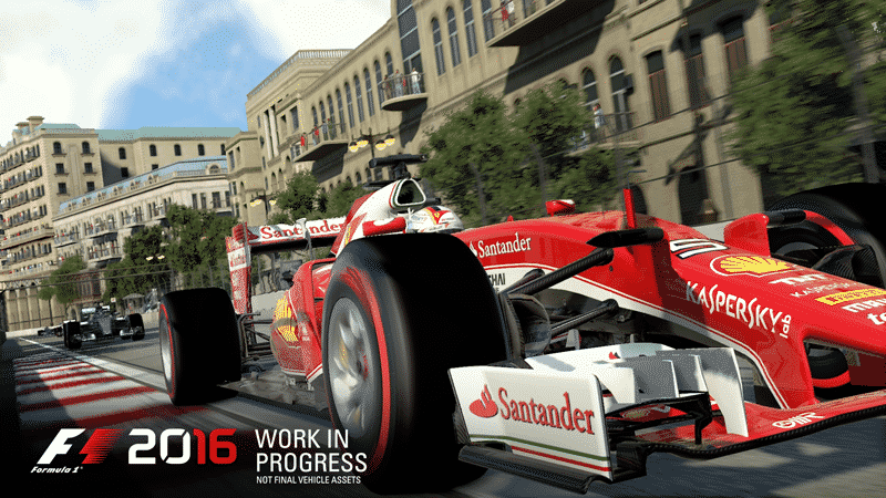 Codemasters Announces F1 2016