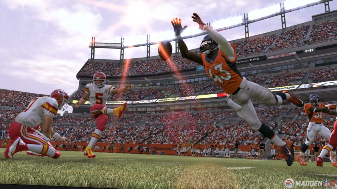 Rush in and block that kick!