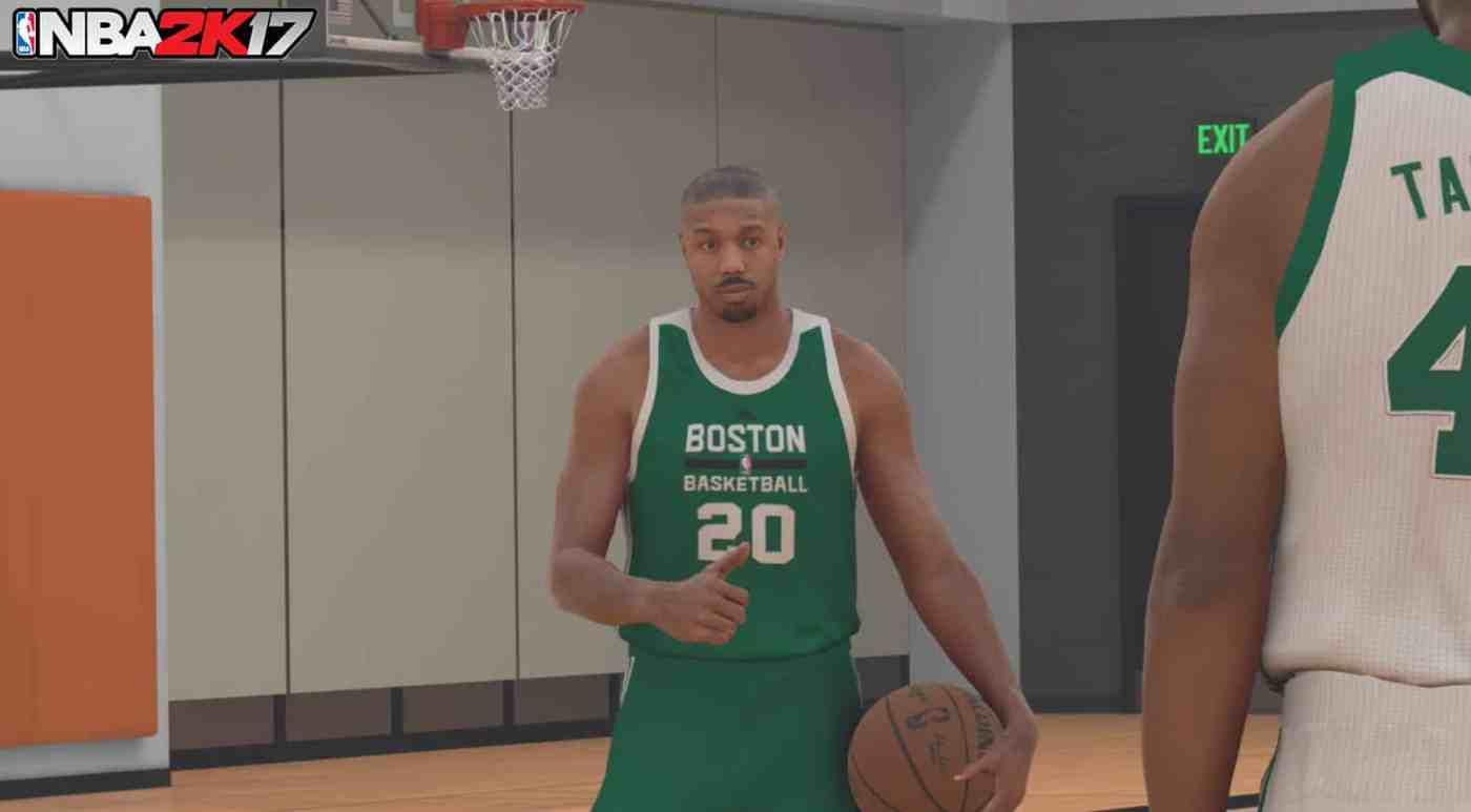 NBA 2K17 MyCareer Michael B. Jordan