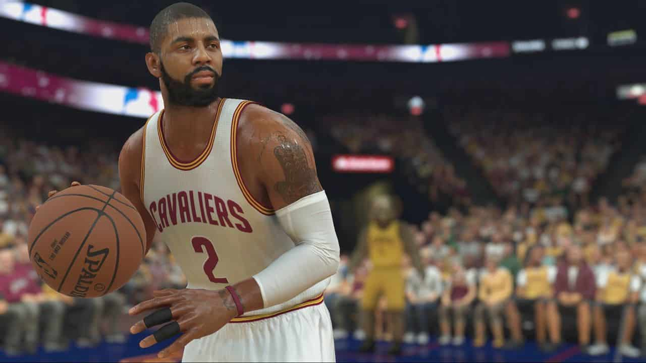 NBA2K17 Gameplay Kyrie_Irving