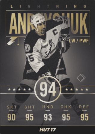 Tampa Bay Lightning: Dave Andreychuk