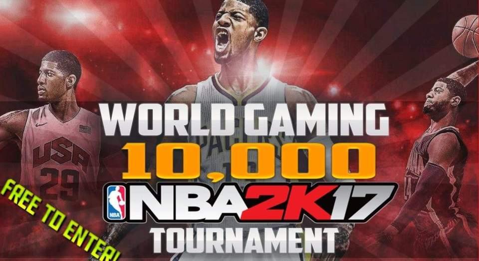 NBA 2K17 $10,000 Tournament