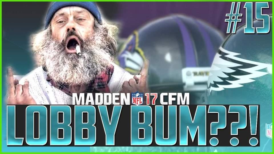 Madden NFL 17 Lobby Bum