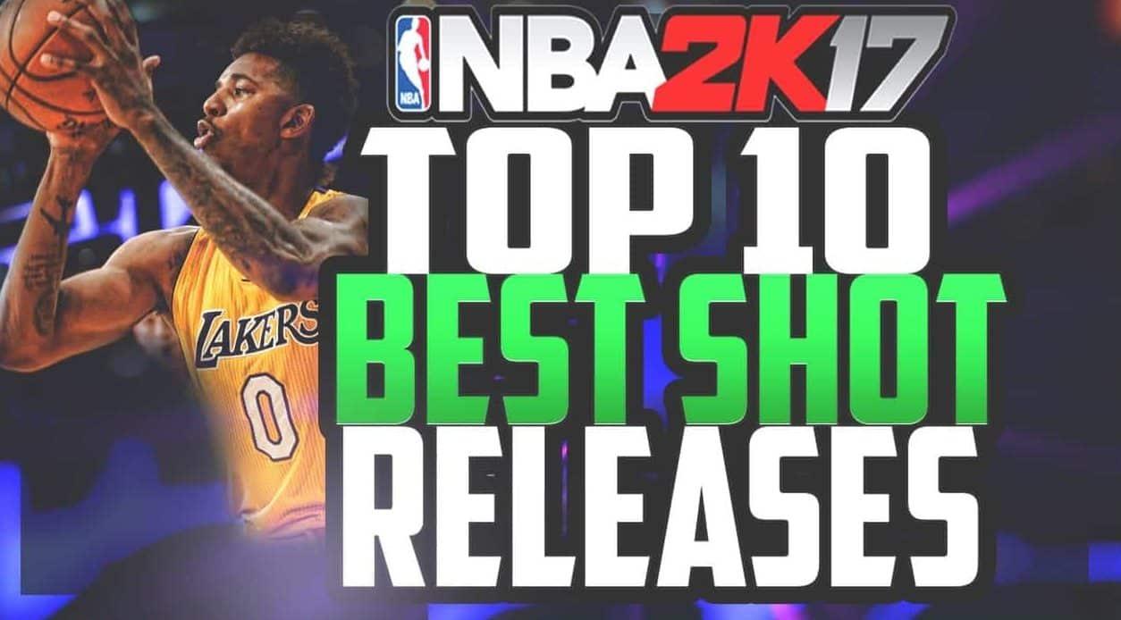 NBA 2K17 Best Shot Releaes
