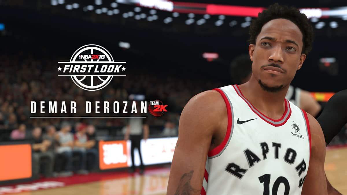 Demar Derozan NBA 2K18