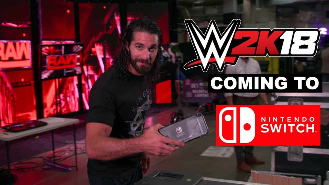 WWE 2k18 Coming To The Nintendo Switch Sports Gamers Online