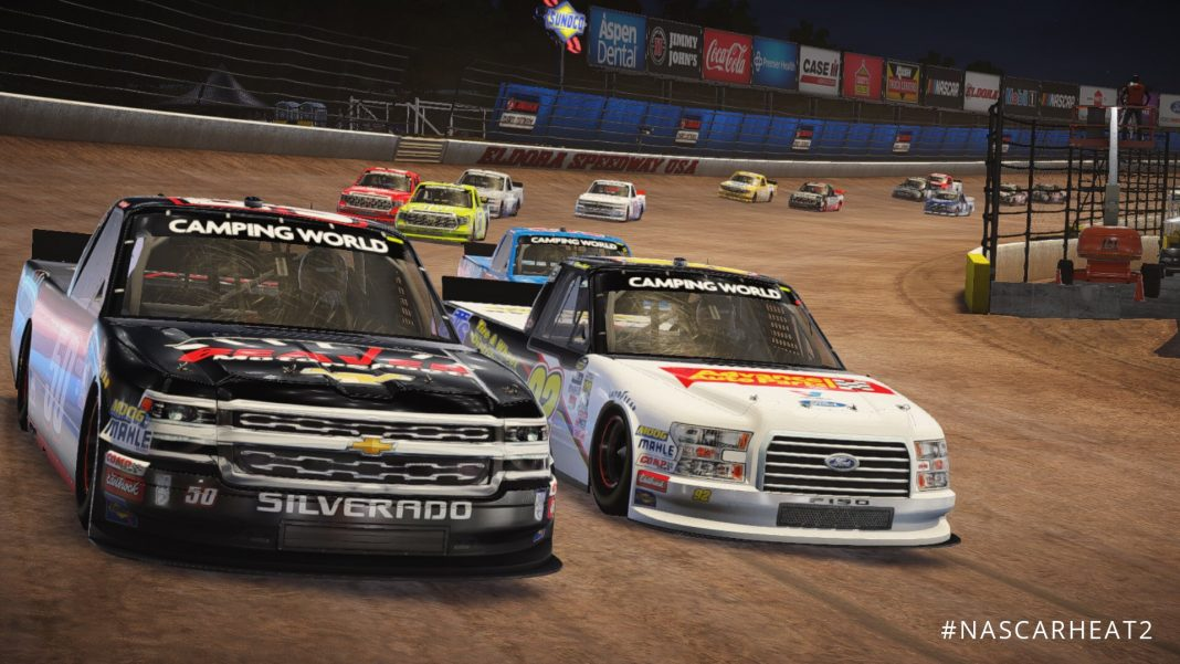 NASCAR Heat 2 Camping World Truck Series Roster Revealed