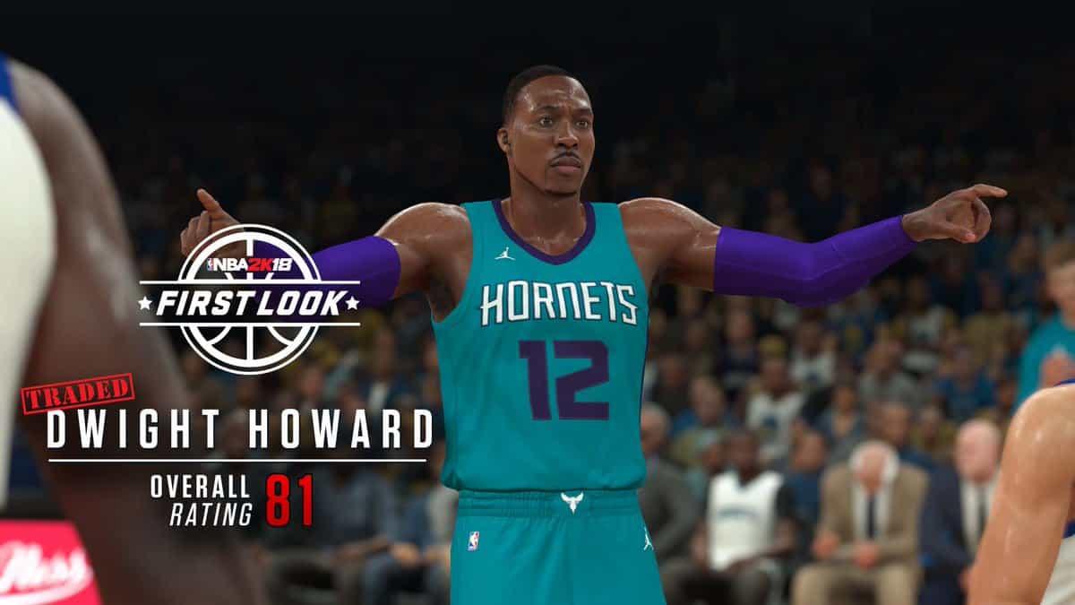 Dwight Howard NBA 2K18