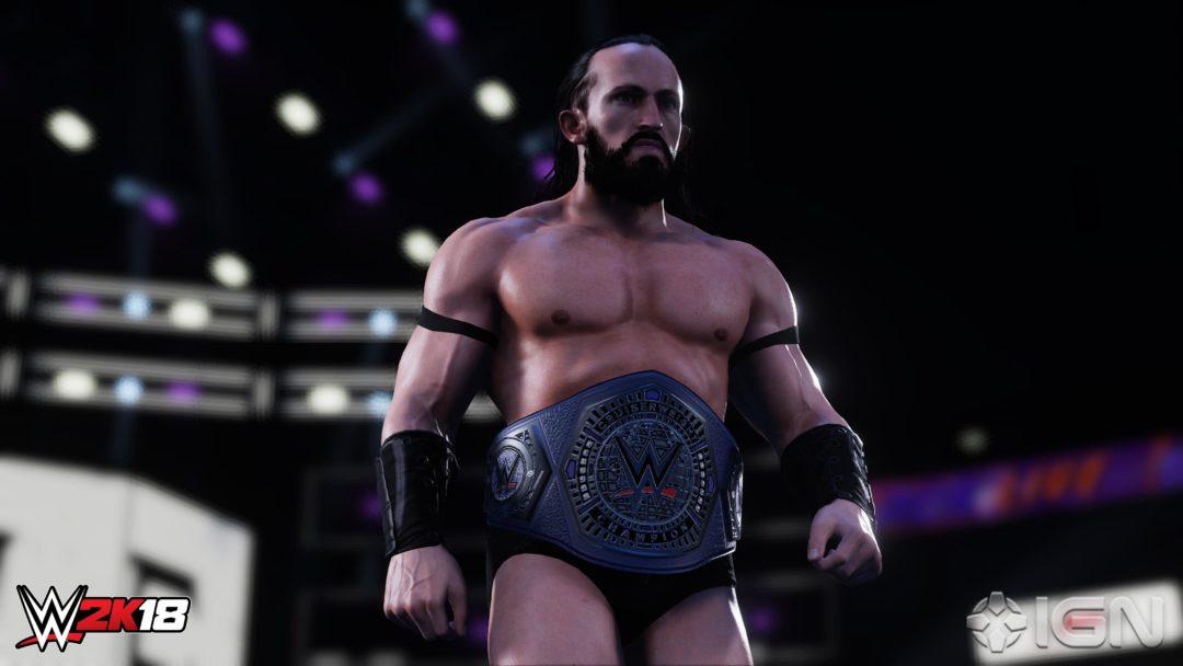 WWE 2K18 Carry System