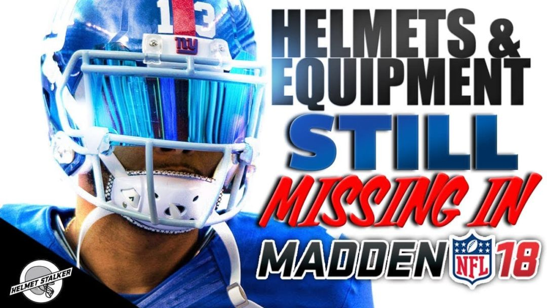 NFL Equipment Still Missing From Madden 18 Sports Gamers Online