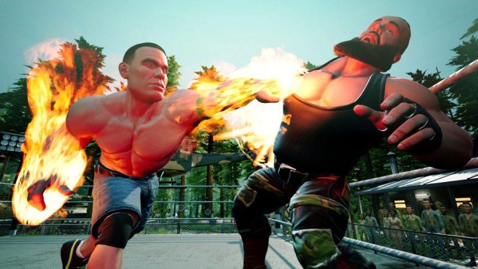 WWE 2K Battlegrounds Features