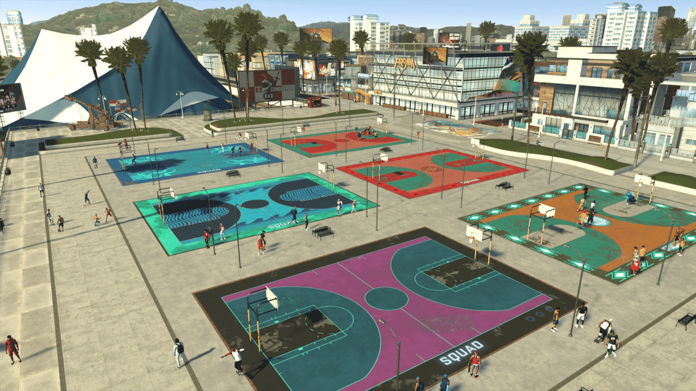 NBA 2K21 - Neighborhood 2K Beach Overview