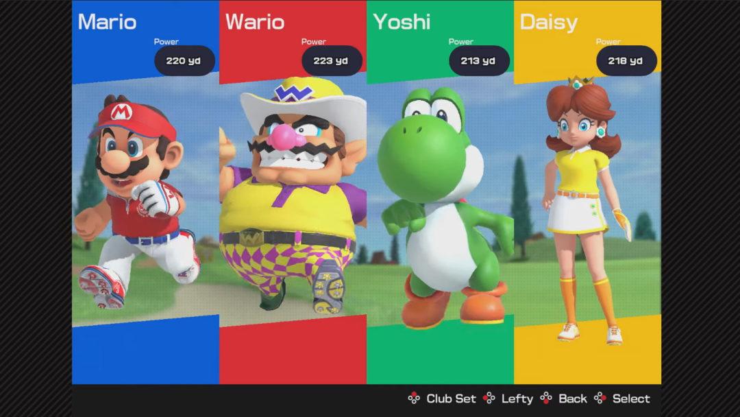 Mario Golf Speed Rush
