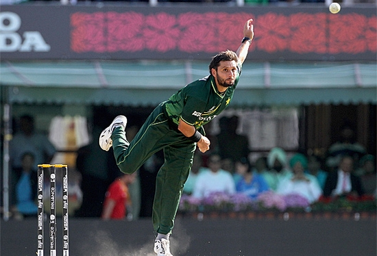 Shahid Khan Afridi Much Faster Than any Spinner