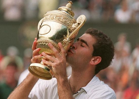 Pete Sampras Wimbledon Gentlemen's Singles Champions