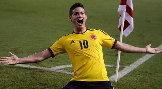 Colombia's gifted No 10 James Rodríguez: