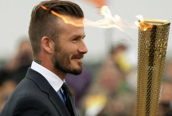 Top 20 Modish David Beckham Hair Styles in Pictures