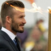 David Beckham Hair Styles
