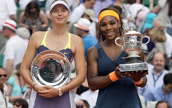 Maria Serena Top 30 Female Tennis Players of 2014