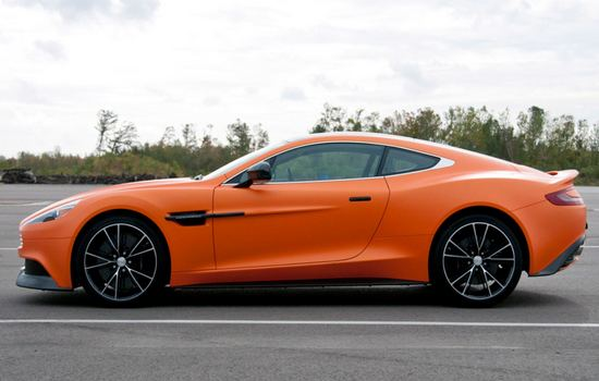2014 Aston Martin Vanquish Most Expensive Sports Cars