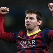Lionel Messi Scored 400 goals for FC Barcelona against Valencia at the Camp Nou