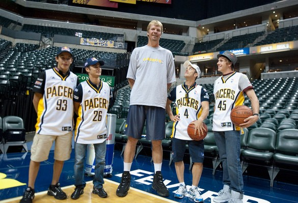 Tallest Players in NBA Rik Smits