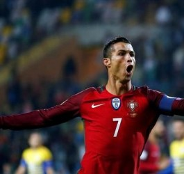 Cristiano Ronald Third on List of Europe's All-time Top Scorers