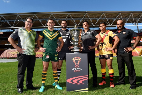 2017 Rugby League World Cup groups