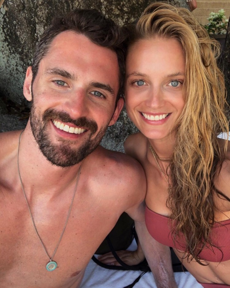 Kevin Love Enjoying the Off-Season on Vacation With His ...