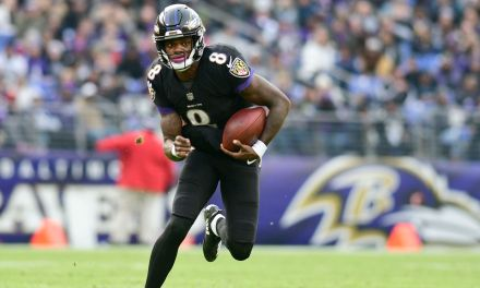 Lamar Jackson Laughs at a Passing Highlight Video of Himself on YouTube