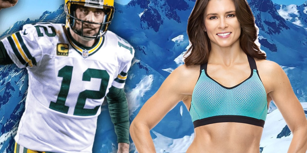 Aaron Rodgers and Danica Patrick Hit the Slopes in the Austrian Alps