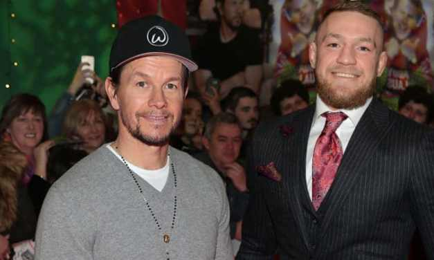 """Conor McGregor Wants to Fight Hollywood """"Actress"""" Mark Wahlberg for His Stake in the UFC"""