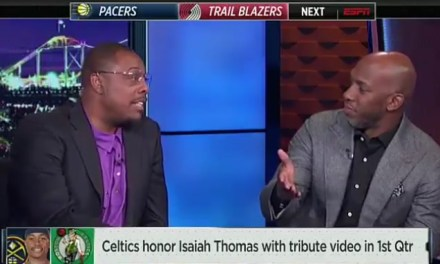 Chauncey Billups Called Out Paul Pierce On ESPN and Things Got a Little Bit Uncomfortable