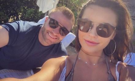 Rams Head Coach Sean McVay and His Girlfriend Veronika Khomyn Enjoy a Date Night