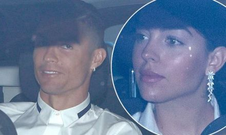 Cristiano Ronaldo and Girlfriend Georgina Rodriguez Attend the Opening of His Hair Transplant Clinic