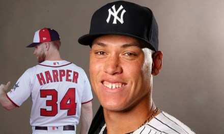 Bryce Harper Ends Aaron Judge's Top Selling Jersey Reign
