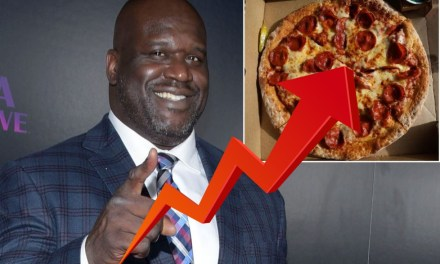 Papa John's Stock on the Rise After Shaq Announced as the New Face