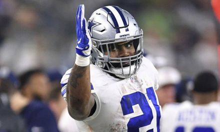 Ezekiel Elliott Claps Back at Fans After Being Called Fat