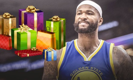 DeMarcus Cousins Drops $11,000 Dollars on Gifts For Warriors Teammates