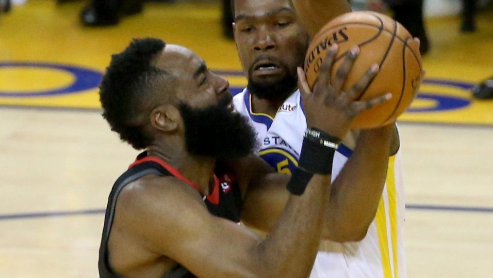cf576e0a399 Kevin Durant Speaks On James Harden Chasing Fouls - Sports Gossip