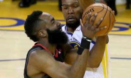 Kevin Durant Speaks On James Harden Chasing Fouls