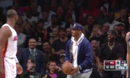 Carmelo Anthony Turned Down the First Shot of His Career