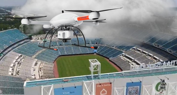 Jaguars Considering Using Drones To Shade Stands On Sunny Days
